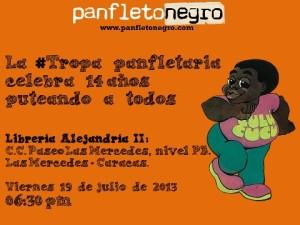 Aniversario Panfletonegro