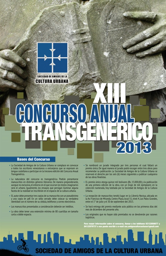 Bases Concurso Anual Transgenérico