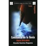Sobre Constancia de la lluvia, de Ricardo Ramírez, por Zakarías Zafra