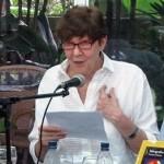 Palabras de aceptación de Victoria De Stefano al recibir el Premio de la Crítica a la Novela del 2010